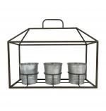 Porta Vasos House de Pendurar 40x35cm