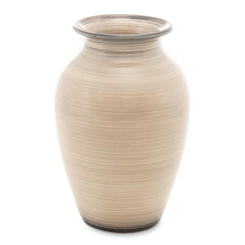 Vaso de Cerâmica Aruba 16x23cm Decoração