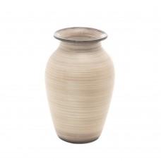 Vaso de Cerâmica Aruba 11x18cm Decoração