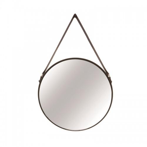 Espelho em Metal Preto Decoração