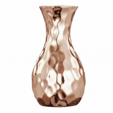 Vaso de Cerâmica Cobre 5,5x10,5cm Decoração