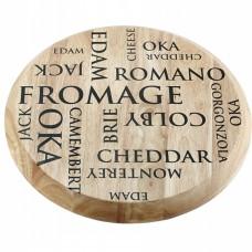 Tábua para queijos em madeira 28,5cm Mesa