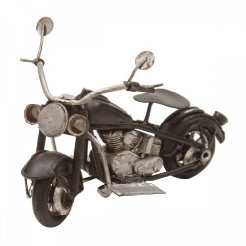 Moto em Metal 11x7cm Decoração