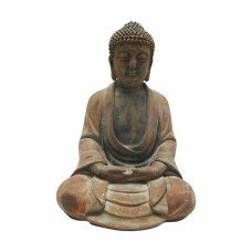 Buda em Resina Decorativo 24cm Decoração