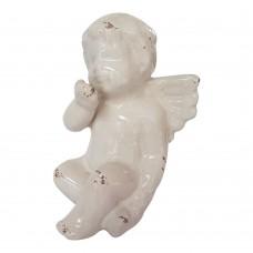 Anjo Cerâmica 12x19cm Decoração