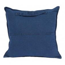 Almofada Jeans Alça Azul Decoração