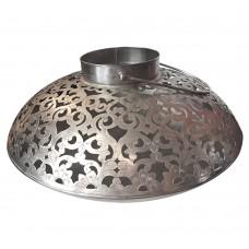 Lanterna de Ferro Mandala 48x29cm Decoração