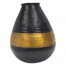Vaso de Alumínio Decorativo 25cm Decoração