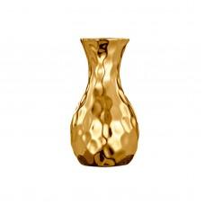 Vaso de Cerâmica Dourado 5,5x10,5cm Decoração